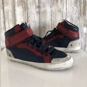 Isabel Marant BESSY Sneakers SZ 38 High Top Blue